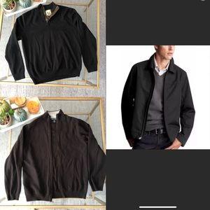 (2) Sweater + (1) Gap Men Nylon zipper Jacket